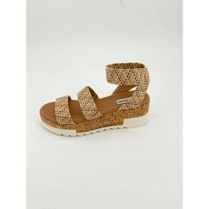 Steve Madden Bandi Platform Wedge Sandal Woven